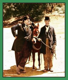 It's Friday so that means Laurel & Hardy time! / Comedy Genuis / Friday Feeling Stan Laurel and Oliver Hardy For more from the movies head over to:. Laurel And Hardy, Stan Laurel Oliver Hardy, Great Comedies, Classic Comedies, Classic Movies, Hollywood Stars, Old Hollywood, Comedy Duos, Comedy Comedy
