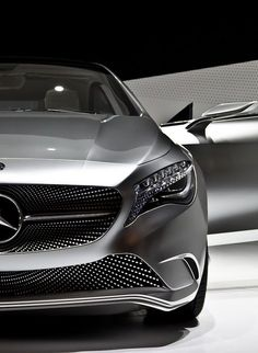 "Another ""Sharp Dressed Ride"" Whew!! Mercedes A Class Concept Car"