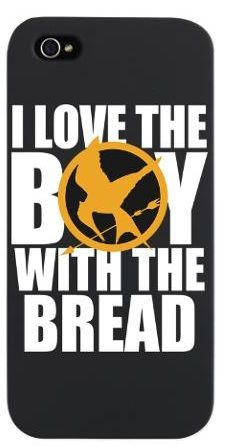 I Love the Boy with the Bread iPod Touch 4 Case> The Hunger Games Hunger Games Merchandise, Hunger Games Catching Fire, Hunger Games Trilogy, Iphone 5 Cases, Cool Phone Cases, Cute Cases, Cool Gifts, Bread, Ipod Touch