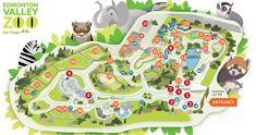 Edmonton Valley Zoo Interactive Map
