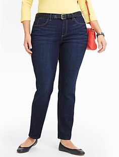 Talbots - Slimming Heritage Reef Wash Ankle Jeans | Jeans | Woman $90