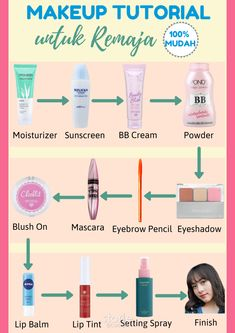 Tutor make up Beauty Care, Beauty Skin, Makeup Order, Skin Care Routine Steps, Face Skin Care, Diy Skin Care, Tips Belleza, Makeup Routine, Skin Makeup