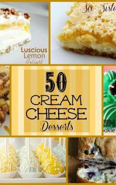 Fluffy Cream Cheese Dessert – Six Sisters' Stuff