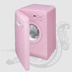 1000 images about kombuis kitchen on - Pink smeg washing machine ...