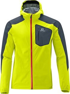 GTX ACTIVE SHELL JACKET M - Jackets - Clothing - Trail Running - Salomon United Kingdom - winter running shell