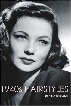 The 40s hair was so elegant! This 1940s HAIRSTYLES book is great just for the photos but also has detailed instructions on cutting and styling.