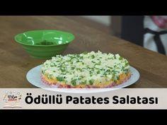 Ödüllü Patates Salatası Tarifi - YouTube Side Dishes, Grains, Salads, Eggs, Yummy Food, Breakfast, Youtube Youtube, Check, Potato Salad