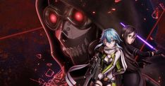 Sword Art Online: Fatal Bullet - is a third-person shooter action role-playing video game developed by Dimps for the PlayStation Xbox . Sword Art Online, Online Art, Online Anime, Kirito Kirigaya, Asuna, Anime Figures, Anime Characters, Gun Gale Online, Light Novel
