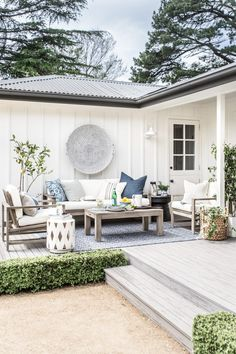 Last month, I was incredibly proud to share our home outdoor makeover collaboration with Pottery Barn, featured in the first issue of their new publication, The Collected Home. Indoor Outdoor Rugs, Outdoor Living, Outdoor Decor, Outdoor Sitting Areas, Outdoor Spaces, Outdoor Pergola, Outdoor Ideas, Outdoor Gardens, Cute Cottage