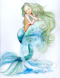 Princess of the sea by ~sanguigna on deviantART