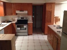 Before and After, cheap ideas, diy home projects, painting tile, tips for cheap renovations
