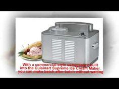 Cuisinart ICE 50BC Supreme Ice Cream Maker