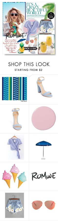 """Untitled #211"" by maryvolanaki on Polyvore featuring International Caravan, Wildfox, Serena & Lily, Frankford, Victoria Beckham and Betsey Johnson"