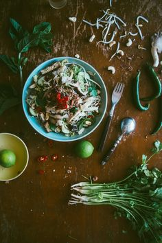 Asian Mushroom Noodle Salad (Souvlaki For The Soul) #simplesummereating #powerofmushrooms