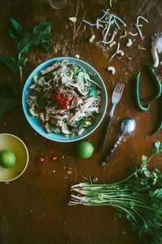Asian Mushroom Noodle Salad (Souvlaki For The Soul) #simplesummereating #powerofmushrooms