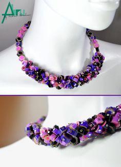 - Grapes - necklace Crochet Necklace, Beaded Necklace, Jewelry, Fashion, Beaded Collar, Moda, Jewlery, Crochet Collar, Bijoux