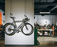 Wheel World: Firefly Bicycles in Boston Makes Custom High-End Bikes