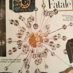 Crystal Sputnik chandalier crystal sputnik