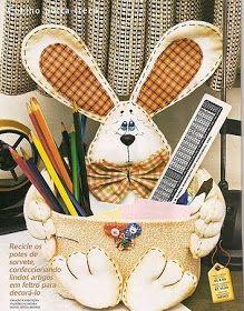 Bunny basket tutorial (in spanish)