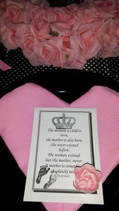 Pink heart shaped napkins
