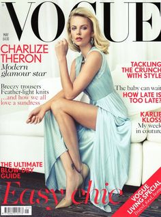 Charlize Theron for Vogue US