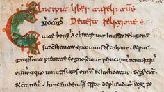 Beneventan Script Sample from Monte Cassino
