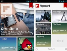 Flipboard Is Now Officially Available For Android  Got room for one more news reader app on your homescreen? Good, because the insanely sought after Flipboard is now officially available for Android devices. Flipboard is essentially a stylized RSS reader that displays news items in a magazine-like view.