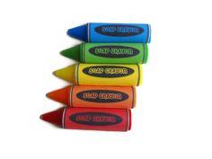 Crayon Soap  Set of 10  Squeaky Clean Soaps by squeakycleansoapco, $25.00