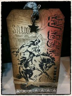 Tim Holtz Tag by Stamp Asylum #timholtz