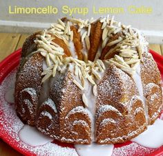 Limoncello Syrup Bundt Cake from @Noble Pig {noblepig.com}