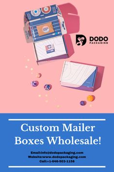 It is entirely a myth that the mailer boxes are only used for mailing, shipment, and subscription purposes. Surely, the use of these boxes has been advanced because today, all the retailers are using them for various purposes. These retailers are currently searching for enhancing packaging that will make these mailer boxes according to their demand. Get your packaging in wholesale rates. #CustomMailerBoxesWholesale #CustomretailPackaging #COVID19 #Dodopackaging #Productpackaging… Custom Mailer Boxes, Custom Boxes, Subscription Boxes, Retail Packaging, Searching, Prints, Search, Budget Binder