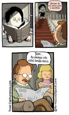 Leitura faz bem
