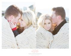 Winter Engagement Session with Taya Photography