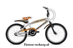 Jongensfiets Montego Turbo Grijs - Oranje 20 Inch | bestel gemakkelijk online op Fietsen-verkoop.nl