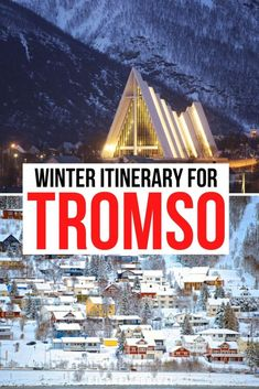 Going to visit Tromso, Norway in winter? Here is the perfect Tromso Itinerary for 1, 2, 3, 4, or 5 days in Tromso! Tromso winter itinerary | things to do in Tromso in winter | Tromso northern lights | Tromso dog sledding | Tromso reindeer sledding | winter in Tromso itinerary | Tromso itinerary for winter | itinerary for Tromso Norway | Northern Norway itinerary Tromso Northern Lights, Stuff To Do, Things To Do, City Break, Culture Travel, Reindeer, Norway, Paths, Europe