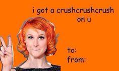 hayley williams paramore tumblr valentine card