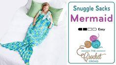 Crochet Mermaid Tail Snuggle Sack Splash goes the girl in her new Mermaid Tail…
