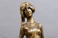 Ars Nouveau Bronzes Charles (Karl) Korschann    Bronze KORSCHANN 1930