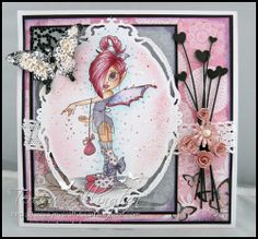 My Crafty Heart: Saturated Canary    Papers: Bo Bunny Isabella; Frantage
