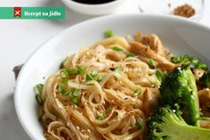 Are you interested in making a super simple meal using broccoli stalks? You can depend on broccoli soba bowl recipe to m. Broccoli Stalk, Rice Vinegar, Cooking Time, Vegan Vegetarian, Food To Make, Spaghetti, Easy Meals, Stuffed Peppers, Dishes