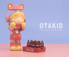 OTAKID Baby Raccoon Apple Pie Edition figure by Sank Toys PREORDER ships Dec or Jan