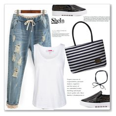 """""""SheIn"""" by amra-mak ❤ liked on Polyvore featuring adidas and shein"""