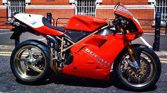 Ducati 1 of 50 made. Ducati 998, Ducati Superbike, Moto Guzzi, Sport Bikes, Racing, Motorcycles, Vehicles, Birth, Wheels