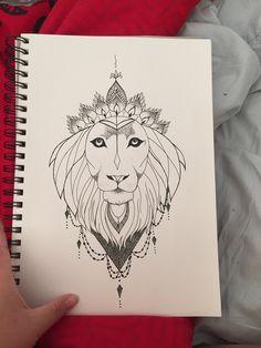 #liontattoo