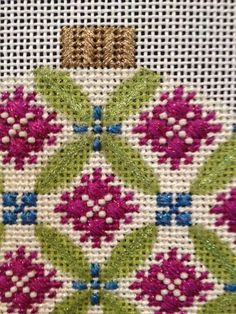 WOW! Florentine Bauble class by Joan Lohr. Needlepoint.Com on June 26! Choose one of 4 Baubles Call to register: 919.828.5538.