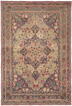 LAVER KIRMAN - Southeast Persian 7ft 10in x 11ft 5in Circa 1875