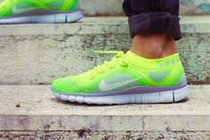 nike free flyknit. Coolest shoes ever