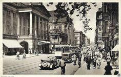 Ulica Świdnicka, gmach Opery (1930-1940)