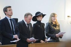 Princess Marie and Crown Prince Frederik attended a service to mark the Paris Attacks, this morning at the French Reformed Church in Copenhagen, November 15, 2015