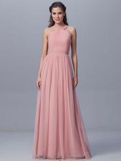 Pleated Tulle Dress